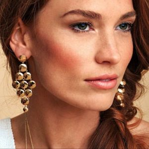 Gorjana, Gypset Tiered Gold Earrings